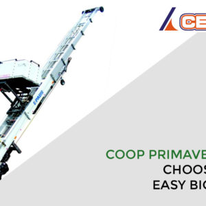 Coop Primavera chooses CEM and the new ladder lift for Removals Easy Big 31, the giant trailer