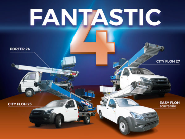 CEM Group launched the ECO Elevators line called the Fantastic 4!
