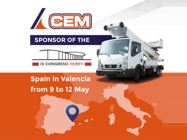 CEM sponsor of the IX Fedem Congress in Spain in Valencia from 9 to 12 May