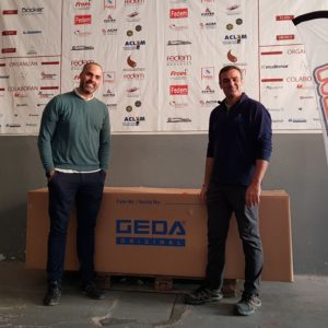 CEM Elevadores sells a inclined hoists GEDA SolarLift in Alicante, Spain