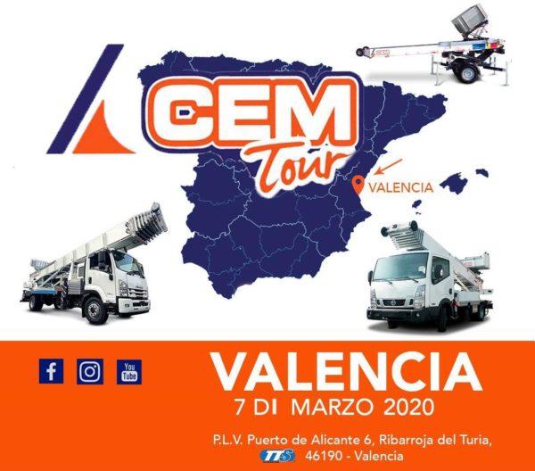 Parada española del CEM Tour en Valencia