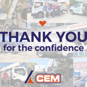 The CEM Group thanks its customers for their trust
